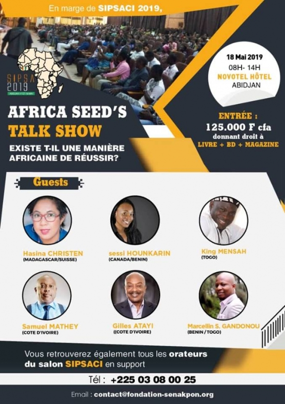 SIPSA 2019 - AFRICA SEED'S TALK SHOW.