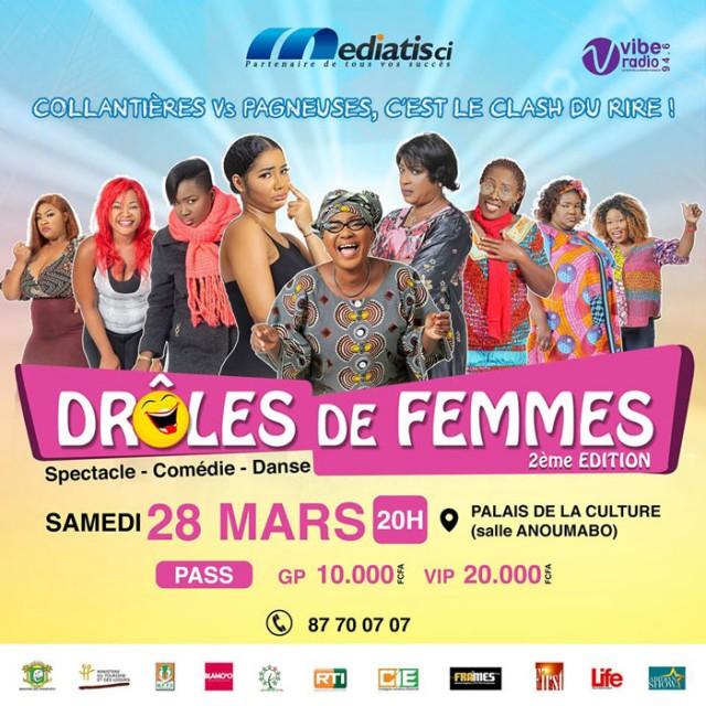 2e Edition de Drôles De Femmes