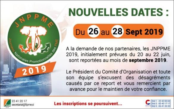 JOURNÉES NATIONALES PROMOTIONNELLES DES PME