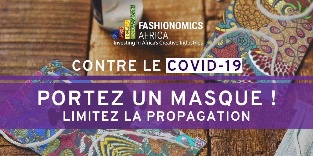 Image Lancement de la série des webinaires « Fashionomics Africa »  Les entrepreneurs de mode africains : prospérer dans un monde post-COVID-19