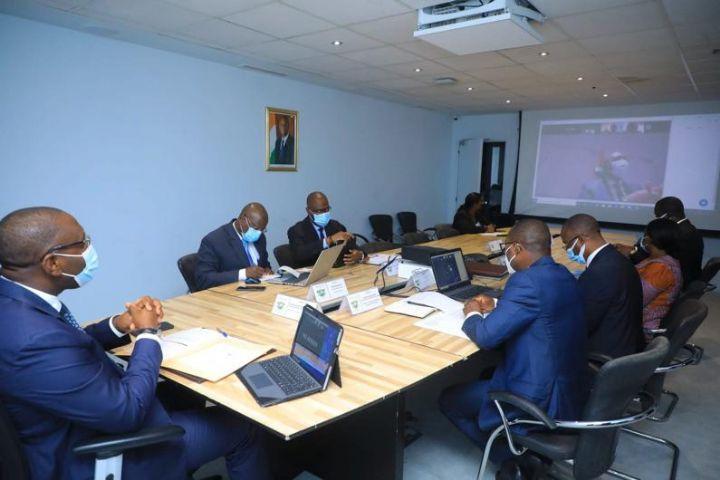 Image Industrie/BAD : Avec le PASI-CI, le Ministre Souleymane Diarrassouba lance les travaux de l'étude de faisabilité de création du fonds de développement industriel