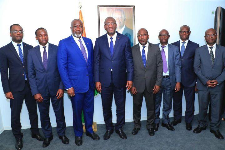 Opérationnalisation du Guichet Unique du Commerce Extérieur : le Ministre Souleymane Diarrassouba préside le premier Conseil d'Administration de la société GUCE Côte d'Ivoire